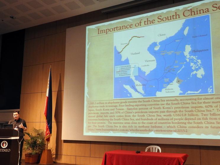 菲律賓曾提仲裁 中國持續抵制判決