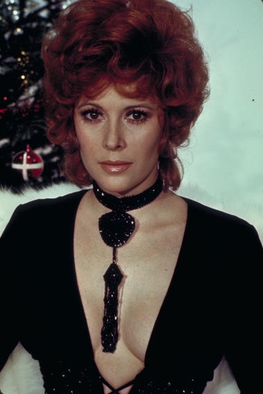 "This undated publicity photo provided by United Artists and Danjaq, LLC shows Jill St. John from the James Bond 1971 film, ""Diamonds Are Forever."" Initially, Bond girls were part of the aesthetic of the series. They had more transient roles. The film is included in the MGM and 20th Century Fox Home Entertainment Blu-Ray ""Bond 50"" anniversary set. (AP Photo/United Artists and Danjaq, LLC)"