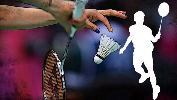 Ilustrasi badminton. (Liputan6.com/Sangaji)