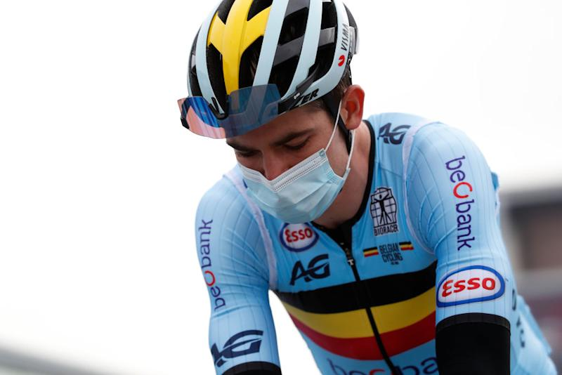 Wout Van Aert came into the race as the main favourite