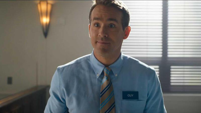 Ryan Reynolds in 'Free Guy'. (Credit: 20th Century Studios)