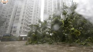 網民票選十大天氣事件 超強颱風山竹襲港得票最多