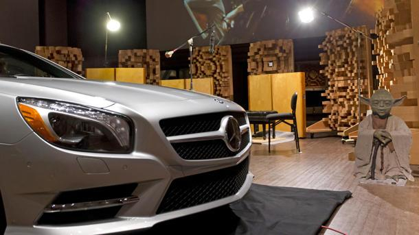How Mercedes used the Force to turn the new SL-Class into a concert hall