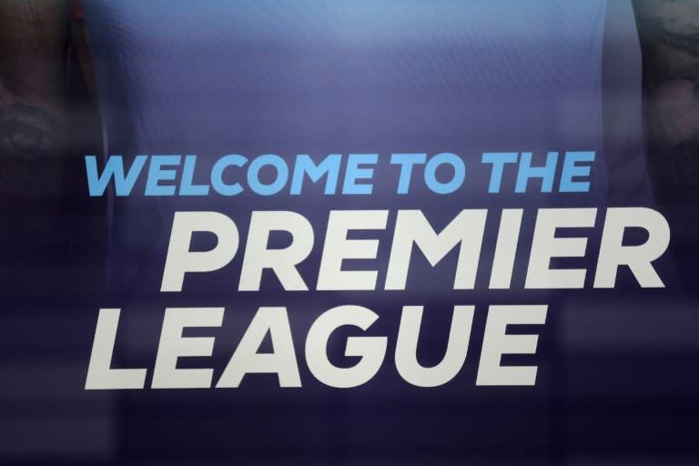 The logo of the English Premier League