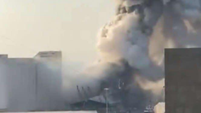 5 Video Amatir Detik-detik Ledakan Dahsyat di Beirut Lebanon