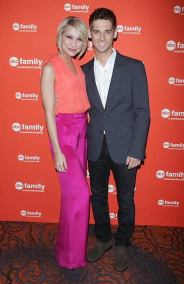 Chelsea Kane and Jean-Luc Bilodeau
