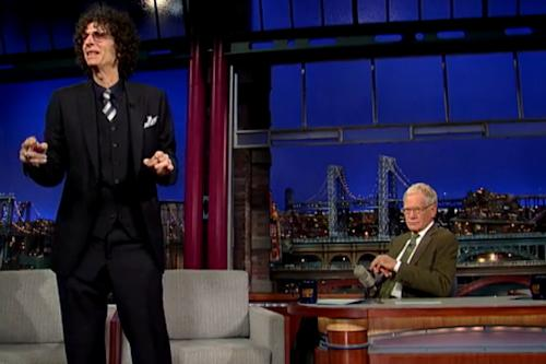Howard Stern Feels 'Like a Vietnam Vet' in David Letterman's Late Night War With Jay Leno (Video)