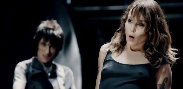 WATCH: Noomi Rapace Doesn't Move Anything Like Jagger In New Rolling Stones Video