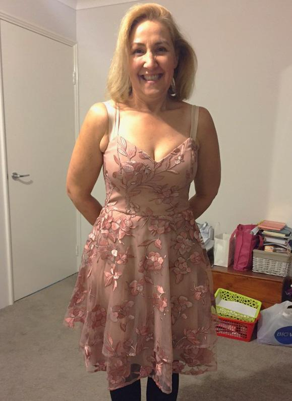 Joanie feels transformed, and 65kg later she looks it, too. Photo: Supplied