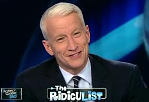 Anderson Cooper Giggles Over Dyngus Day
