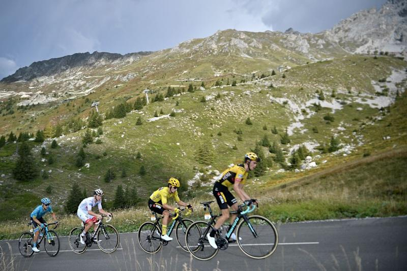 The Col de la Loz took the peloton above 2,300m altitude