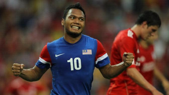 Safee Sali bicara soal pemanggilan dirinya ke timnas Malaysia lagi dan rencana pensiunnya. (AFP/Mohd. Rasfan)