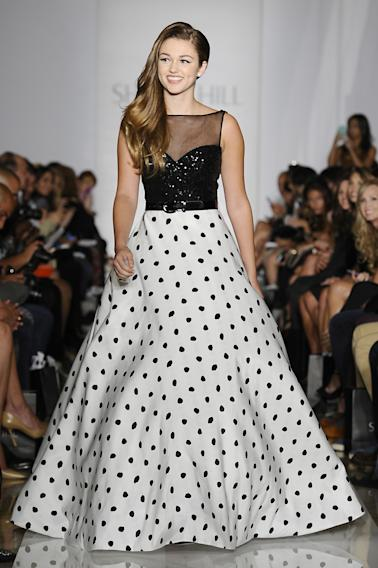 Evening By Sherri Hill - Runway - Mercedes-Benz Fashion Week Spring 2014