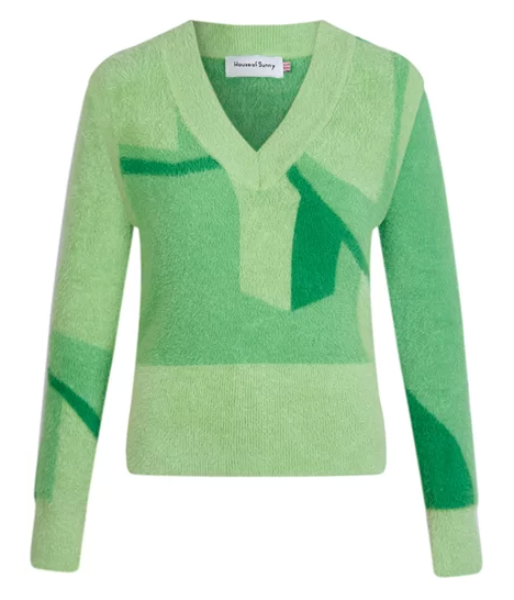 House of Sunny Suburban Knit with Detachable Sleeves