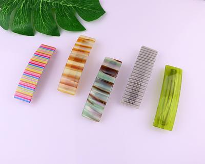 Acetate Shell Hair Pins Tortoise Hair Clip Geometric Hair Clips Resin Hair Clip Women Barrettes Set of 2 Tortoise Shell Hair Clips