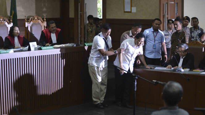 Setya Novanto saat sidang perdana E-KTP.