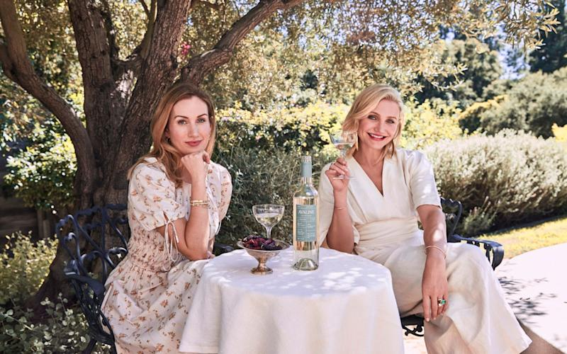 A new range of wines has been revealed by Cameron Diaz - MEGA