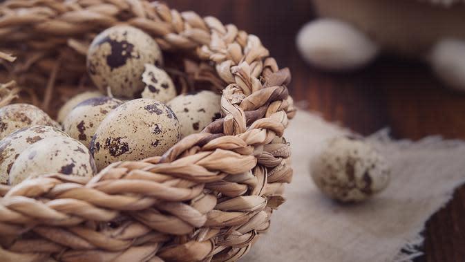 Telur Puyuh (sumber: Pixabay)