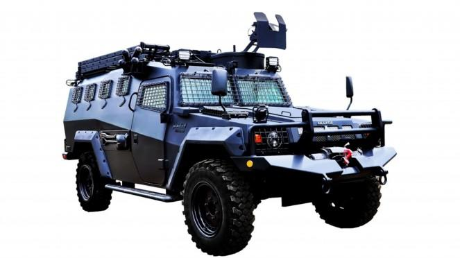 VIVA Militer: Kendaraan Khusus Komodo 4x4 Battering Ram