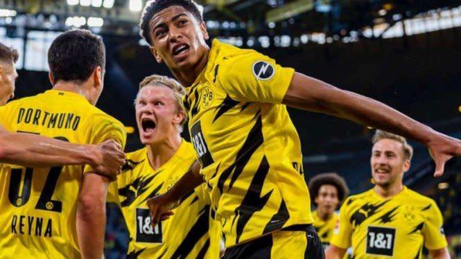 Wonderkidnya Tampil Garang, Dortmund Menang Telak