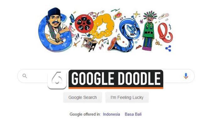 VIDEO: Benyamin Sueb Jadi Google Doodle Hari Ini
