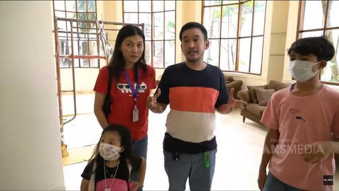 Rumah baru Ruben Onsu. (Youtube Trans 7 Official via Merdeka.com)