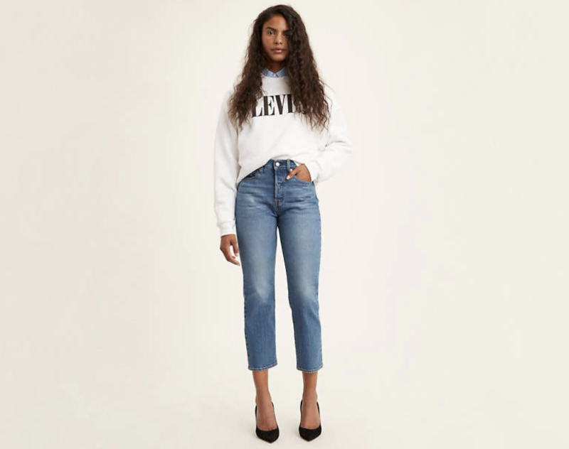 Always wanted a pair of the Wedgie jeans? Now's your chance to get them for 40 percent off. (Photo: Levi's)