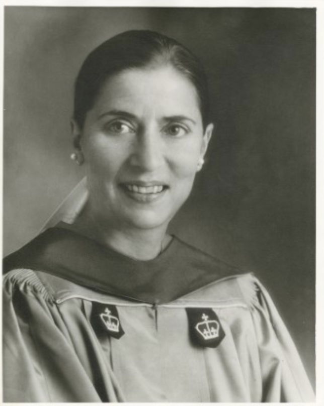 "<p>She was not only the first woman to become a member of the student-run legal journals from each school, but the first person, ever. Which is not to say she didn't experience discrimination based on her gender. As depicted in the movie about Ginsburg's life, <a href=""https://www.amazon.com/Basis-Sex-Felicity-Jones/dp/B07M5HLCKH?tag=syn-yahoo-20&ascsubtag=%5Bartid%7C10055.g.34111816%5Bsrc%7Cyahoo-us"" target=""_blank""><em>On the Basis of Sex</em>,</a> one of her professors at Harvard once made her and her female colleagues justify why they deserved a position that could have gone to a man. Ginsburg was later <a href=""https://www.aclu.org/other/tribute-legacy-ruth-bader-ginsburg-and-wrp-staff"" target=""_blank"">quoted as saying</a> she went to law school for ""for personal, selfish reasons. I thought I could do a lawyer's job better than any other.""</p>"