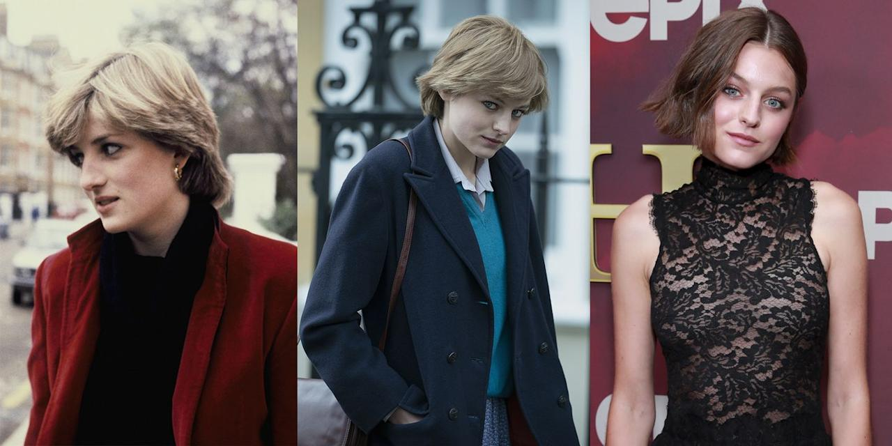 "<p>Actress Emma Corrin will portray the role of Princess Diana in Season 4 of <em>The Crown</em>. The newcomer told <a href=""https://www.instagram.com/p/CFzAJxKgPg6/?utm_source=ig_embed"" target=""_blank""><em>Glass</em> magazine</a>, ""I needed to shut off all the noise that was saying, 'this is huge. It's her, how are you going to do this?'... It was terrifying."" The season will even show <a href=""https://www.harpersbazaar.com/culture/film-tv/a33950871/crown-emma-corrin-princess-diana-wedding-dress/"" target=""_blank"">Diana's fairytale wedding</a> to Prince Charles.</p>"