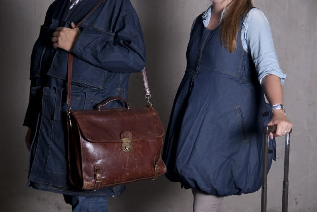 Wearable luggage cuts baggage fees (and your style cred)