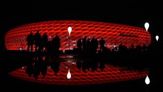 Stadion Allianz Arena, markas Bayern Munchen. (AFP/Christof Stache)