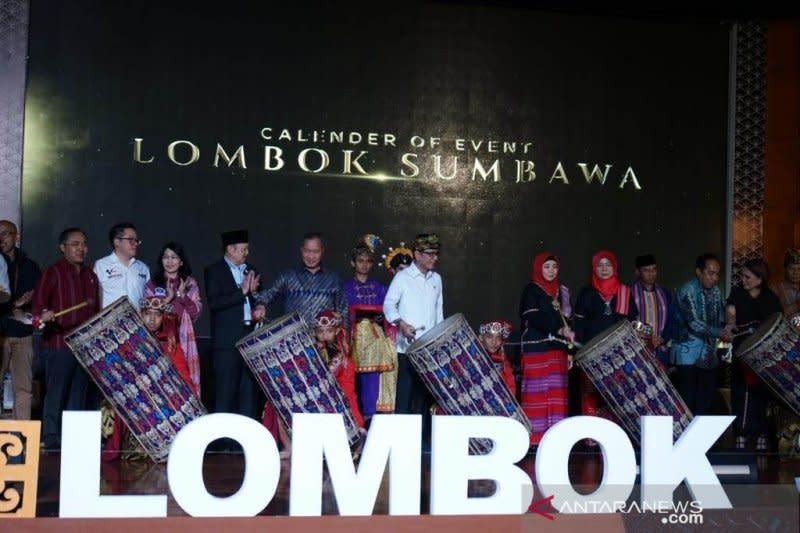 NTB luncurkan kalender pariwisata Lombok-Sumbawa 2020