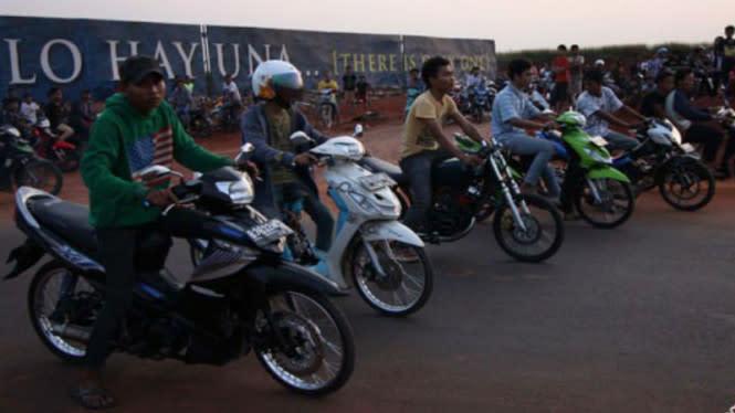 PSBB di Garut, Dua Kelompok Geng Motor Malah Bentrok