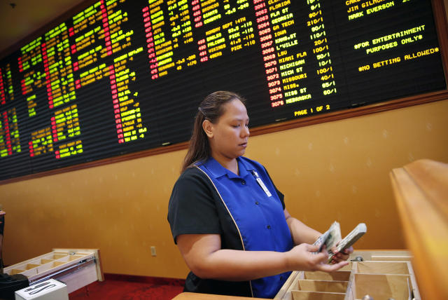 The Supreme Court ruled that states can decide the legality of sports gambling. (AP)