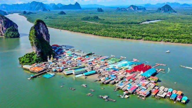 Ternyata, Pulau Cantik di Thailand ini Ditemukan Orang Indonesia