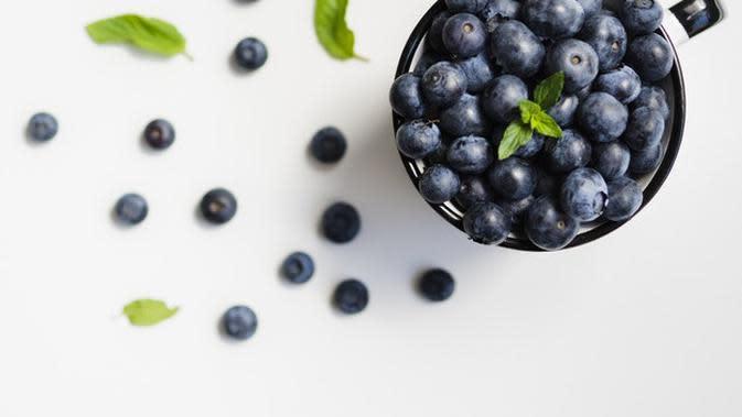 Ilustrasi Buah Blueberry Credit: pexels.com/pixabay