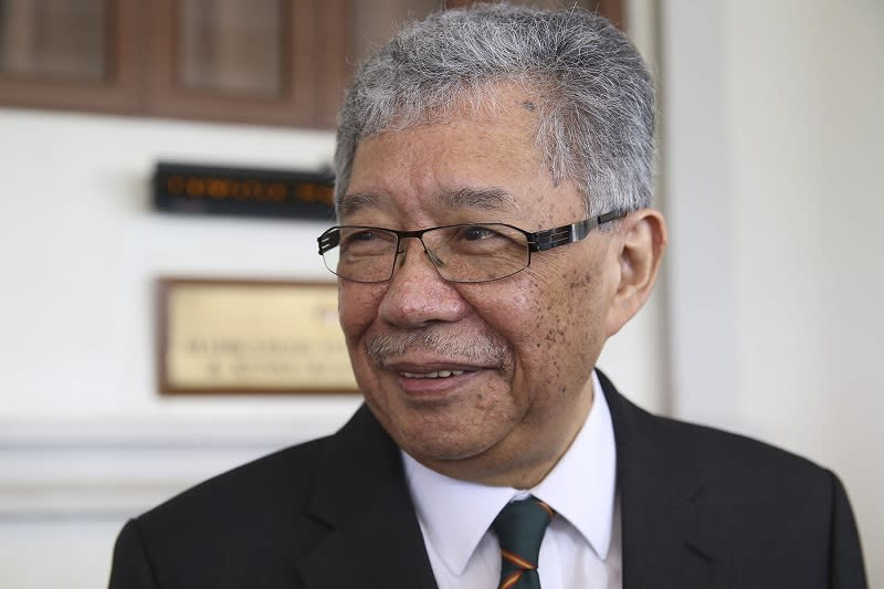 Former Sungai Benut MP Mohamed Tawfik Ismail sees 'seeds of conflict' in Tun Dr Mahathir's endorsement of Datuk SeriShafie Apdal as Pakatan Plus PM. — File picture by Yusof Mat Isa