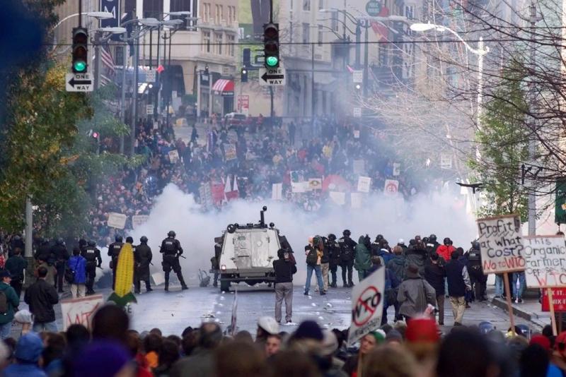 Racial Injustice Tear Gas
