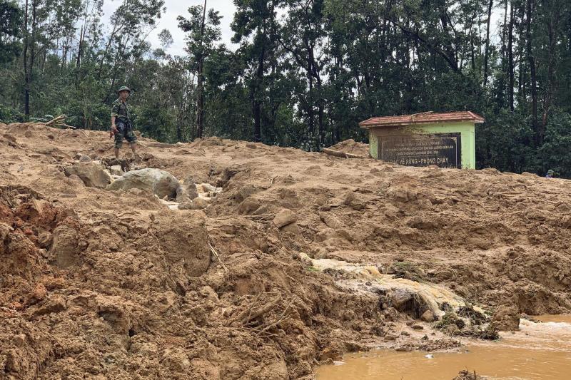 Vietnam Landslide