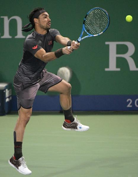 Murray went down in three sets to 12th-ranked Fabio Fognini, after which he accused the Italian of trying to put him off by shouting while he went for a volley