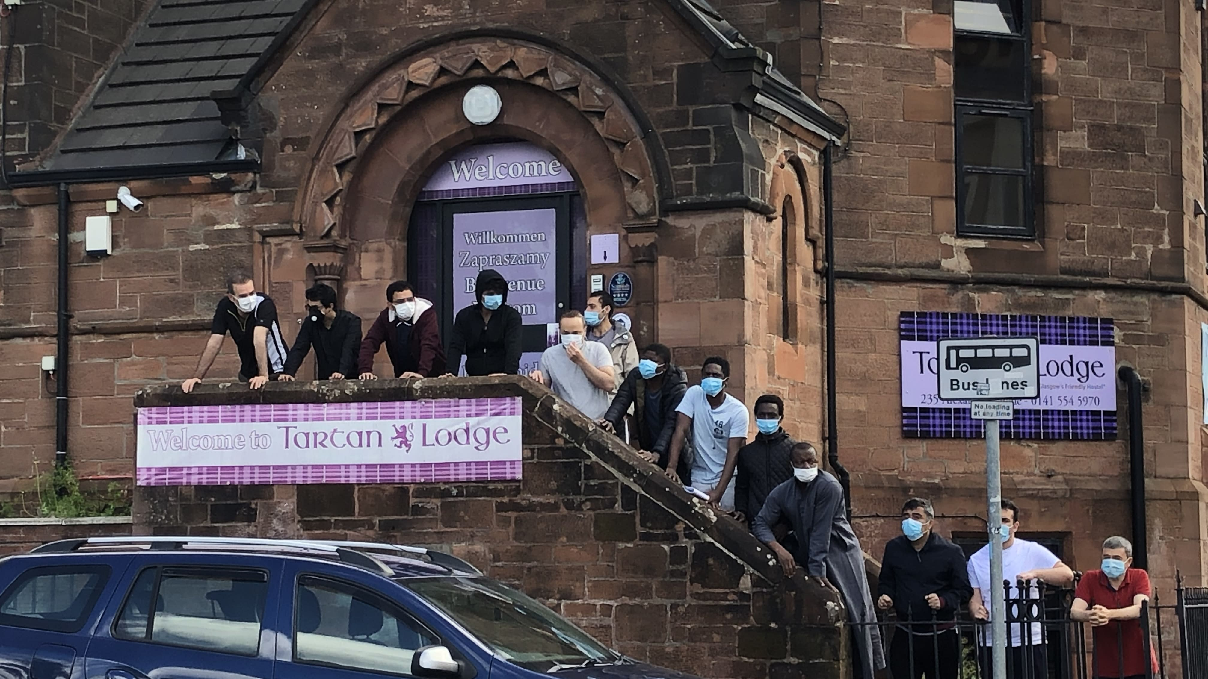 Asylum seekers at centre of humanitarian crisis in Glasgow, charity warns