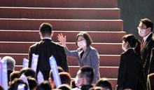 防疫有功人員國慶大會領唱國歌 蔡英文:他們是守護台灣的無名英雄