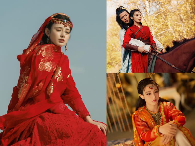 男女主角初見 小楓招牌紅色服飾