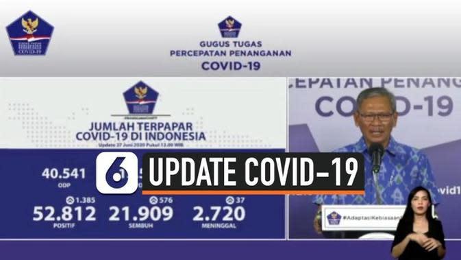 VIDEO: Cetak Rekor Baru, Penambahan Positif Corona di Indonesia Capai 1.385