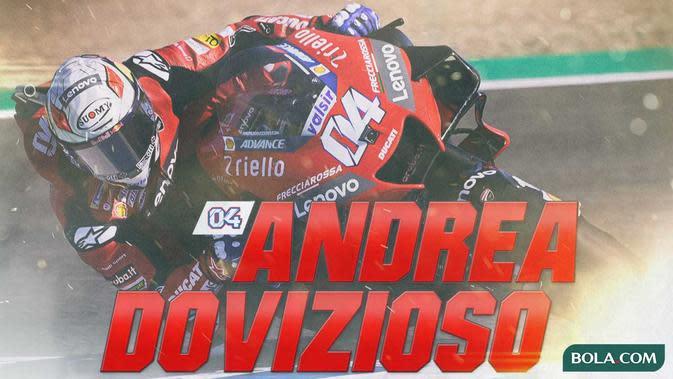 MotoGP - Andrea Dovizioso (Bola.com/Adreanus Titus)