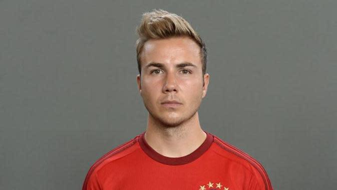 Gelandang Bayern Munchen asal Jerman, Mario Gotze. (AFP/Christof Stache)