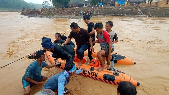 Masa Tanggap Darurat Banjir Lebak Diperpanjang hingga 31 Januari