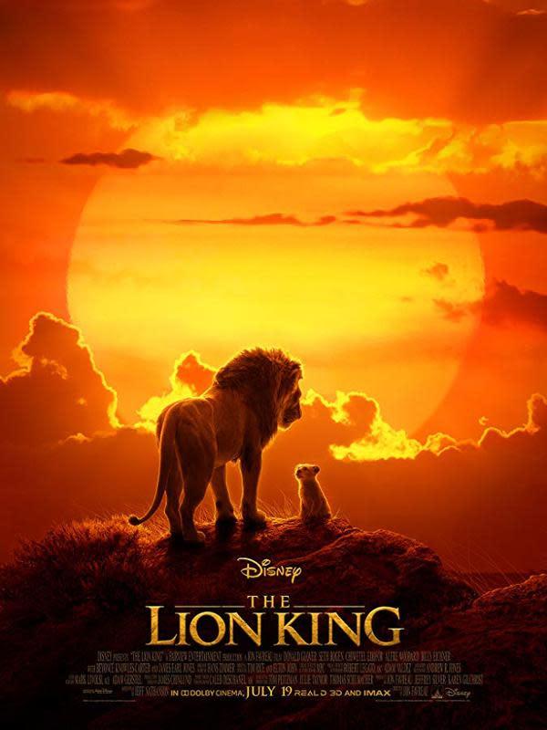 Poster film The Lion King. (Foto: Dok. IMDb/ Walt Disney)