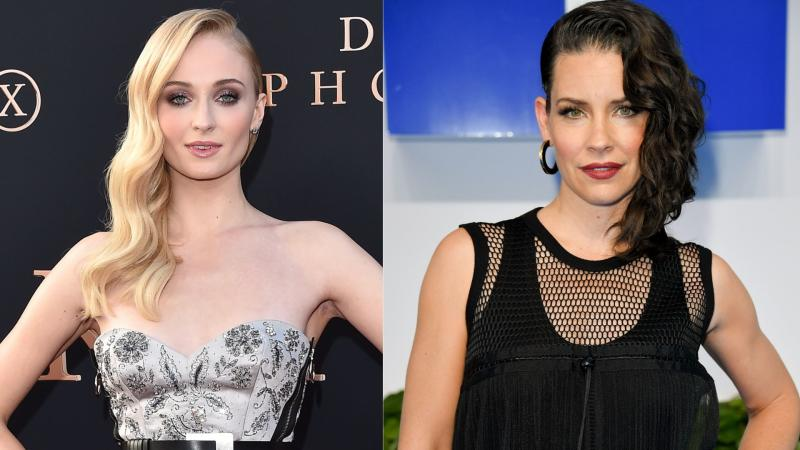 "Sophie Turner has seemingly slammed actress Evangeline Lilly after the ""LOST"" star refused to practice social distancing during COVID-19. (Images via Getty Images)."