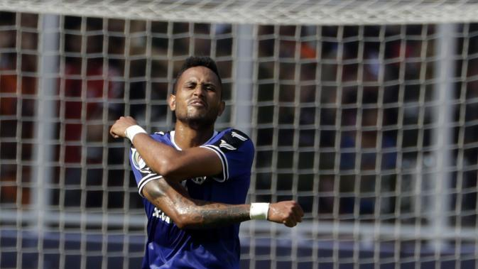 Wander Luiz telah menunjukkan ketajaman bersama Persib Bandung. (Bola.com/M. Iqbal Ichsan)